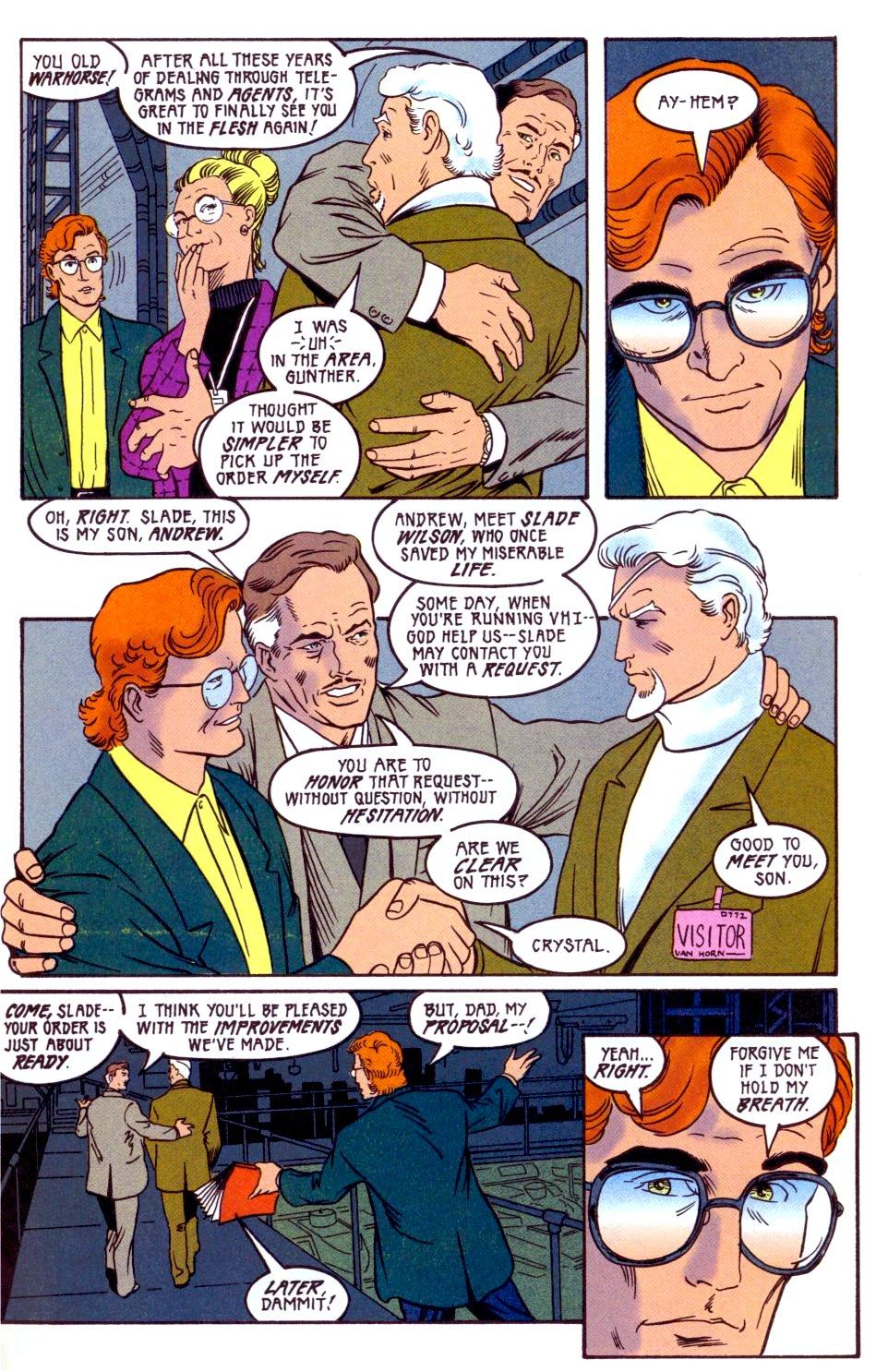 Deathstroke (1991) Annual 2 #2 - English 22