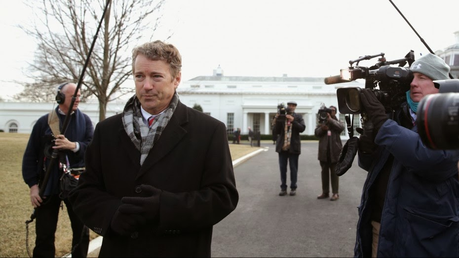 Rand Paul: Hillary Clinton Is a 'Big Proponent of the Surveillance State'