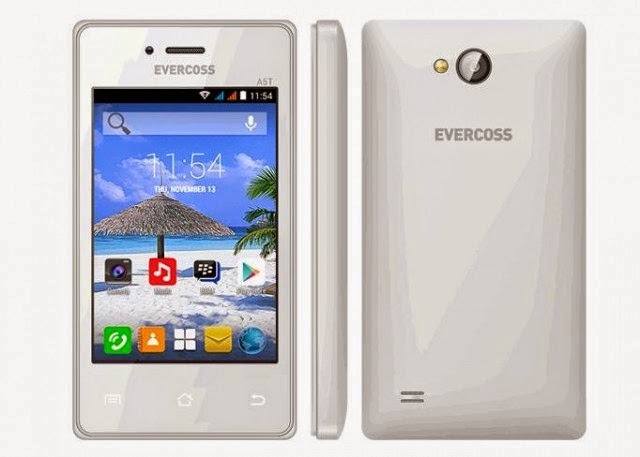 Evercoss A5T, Ponsel Android Kitkat 500 Ribuan