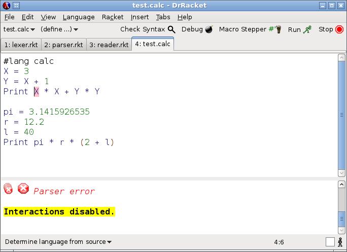 Racket язык программирования