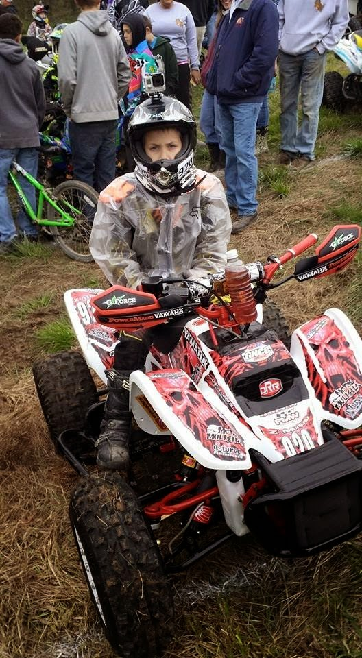 Z came home 6th on 5/25/15 on his DRR at round 5 of the GNCC in Springville, Indiana at the Limestone 100. He had a fun time riding hard in the mud.#DRR #DRRUSA #DRRracing , red, white, black,Z, 6th, GNCC, Indiana, Limestone 100,mud
