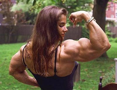 Okashi Yummy: My big muscles XD