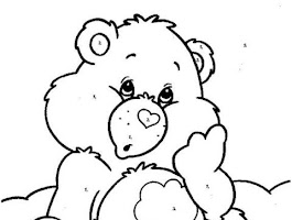 Christmas Cake Coloring Pages