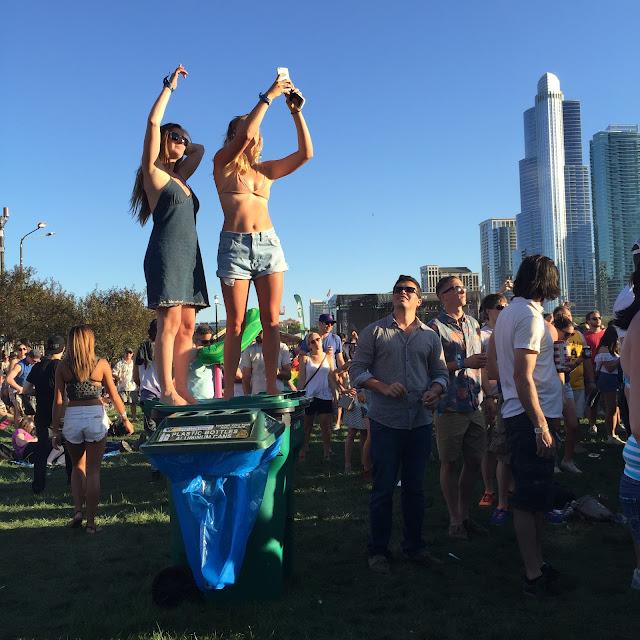 Lollapalooza festival-goers