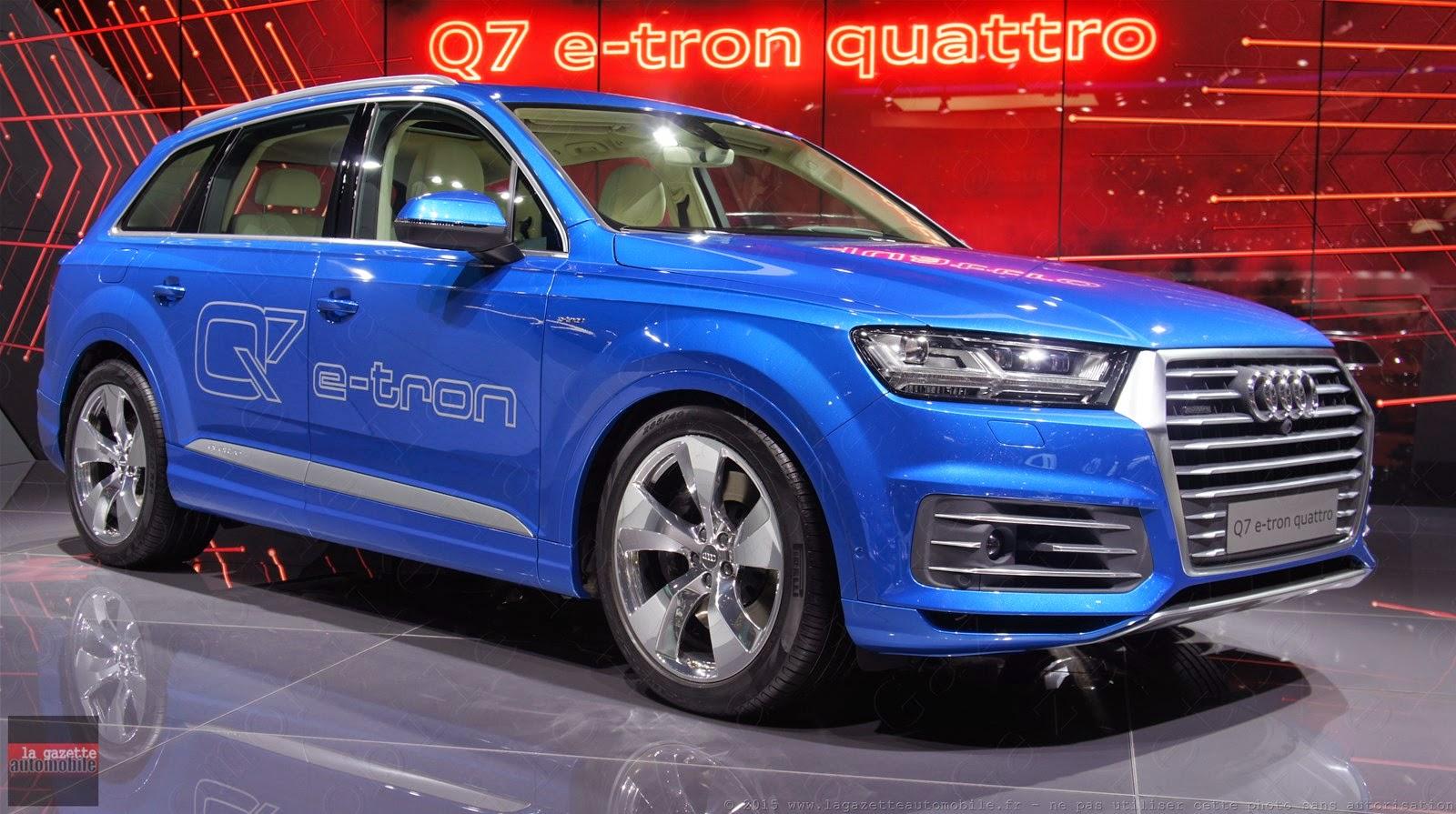 Genève 2015 Audi Q7 II