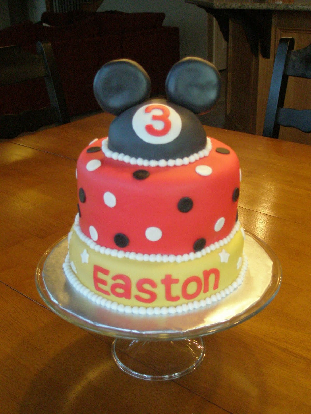 Angies Cakes Mickey Mouse Cake