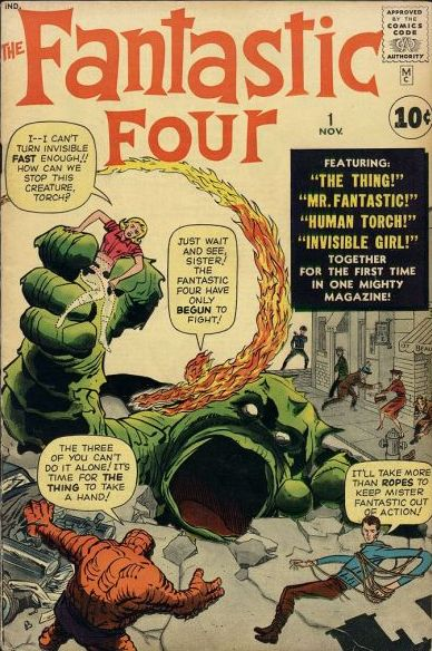 Fantastic Four #1 For Sale! Click this image to find out where to get this key comic book issue