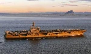 Setelah Kapal Induk, Kapal Perang AS dan Serdadu Tiba di Teluk