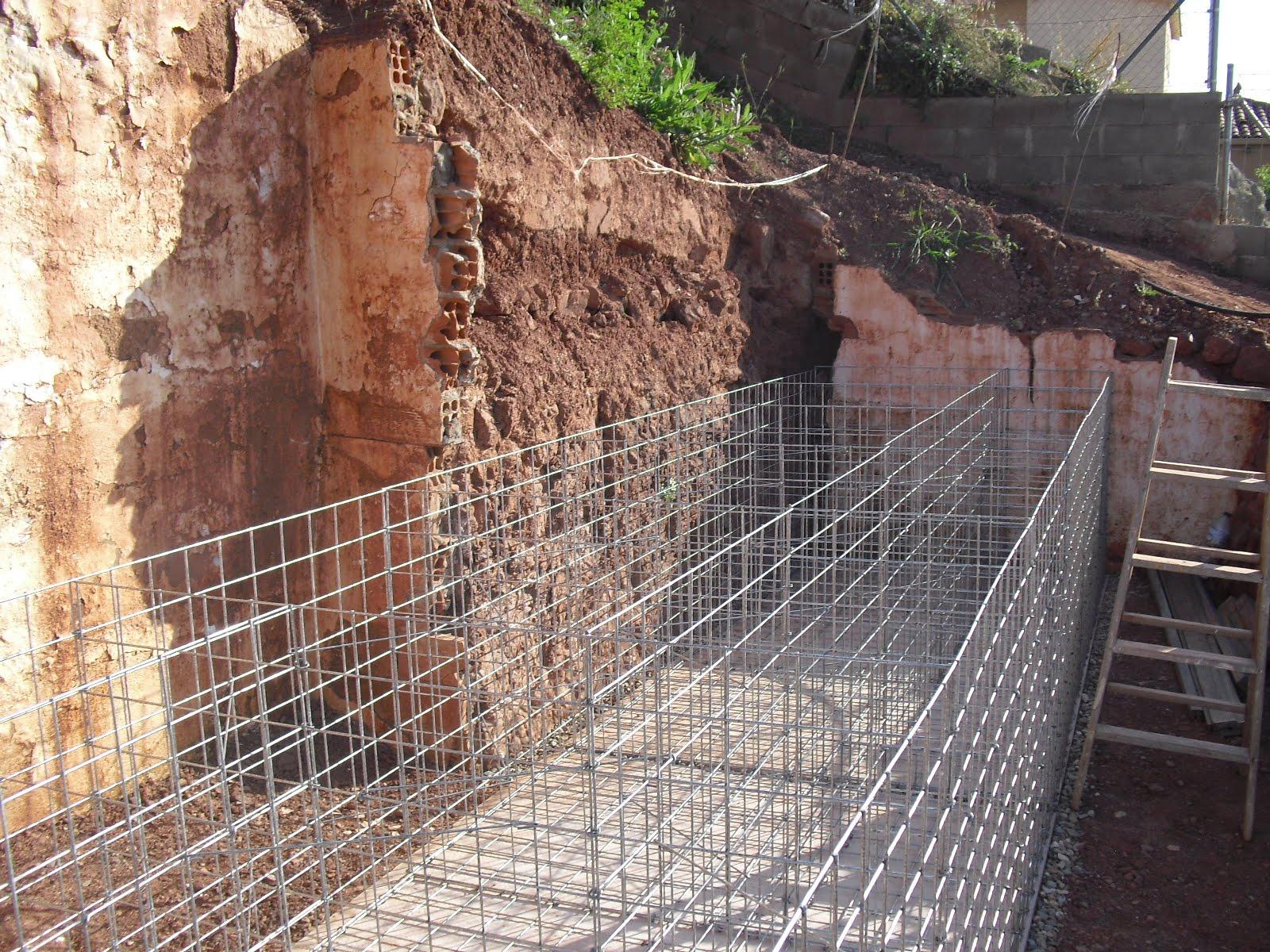 Nuestra casa contenedor muro grande de gaviones for Gaviones de piedra