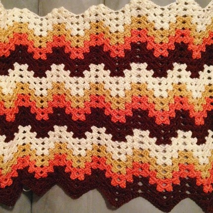 Free Crochet Granny Ripple Afghan Pattern : Crochet For Children: Beautiful Colours... Granny Ripple ...
