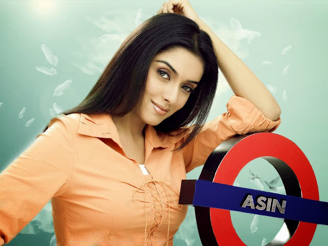 Beautiful And Sexy Actress Asin HD Wallpaper