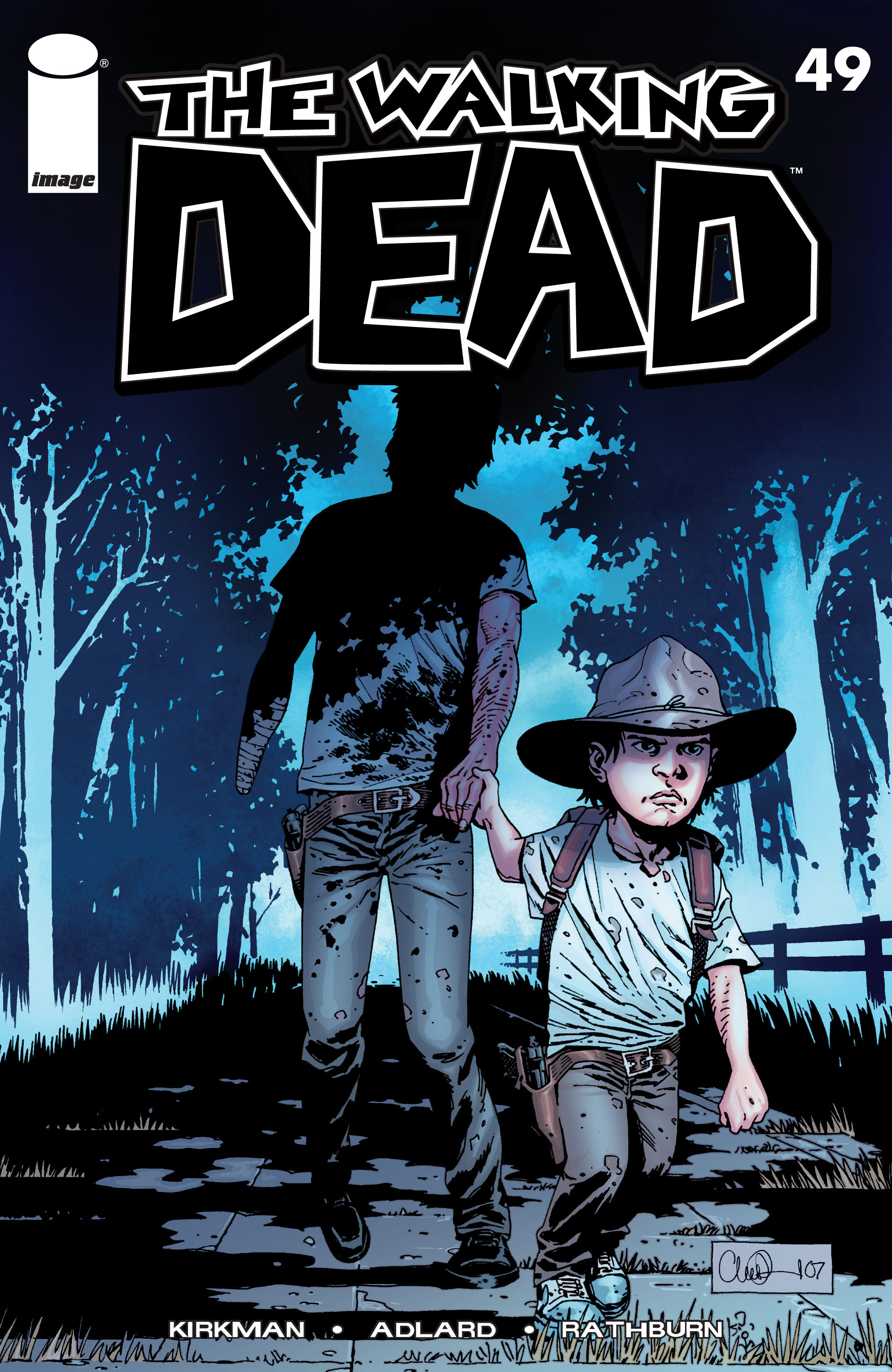 The Walking Dead Issue #49 Page 1
