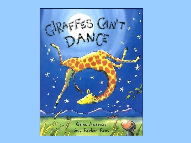 Shaundawenger.blogspot on Story Time Giraffes Cant Dance