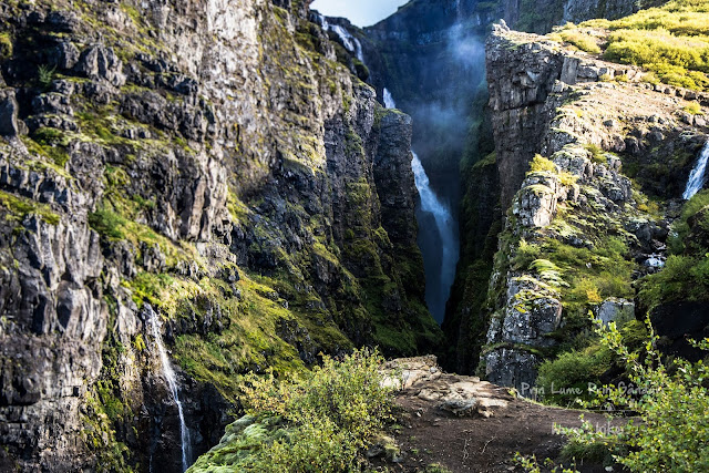 honeymoon-iceland-reykjanes-peninsula-Glymur