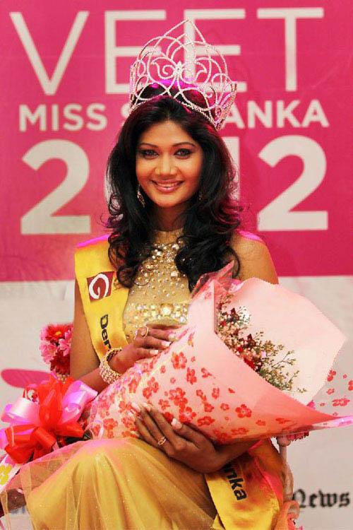 Derana Veet Miss Sri Lanka 2012