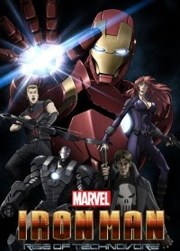 Iron Man Rise of the Technovore Movie