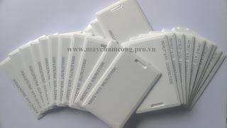 Thẻ cảm ứng Proximity 125khz dày 1.8mm