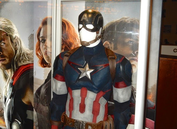 Captain America movie costume Avengers Age of Ultron