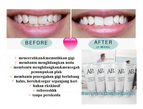 Pasta Gigi Pemutih Ap24 Nu Skin Bpom Whitening Toothpaste Cantik