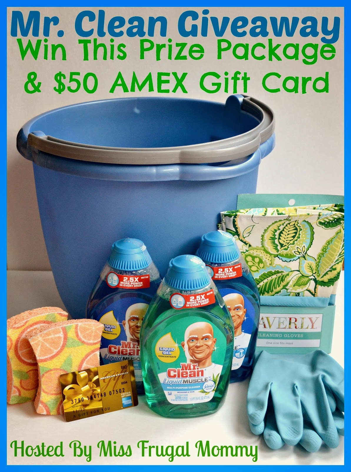 Mr. Clean's Prize Package Giveaway