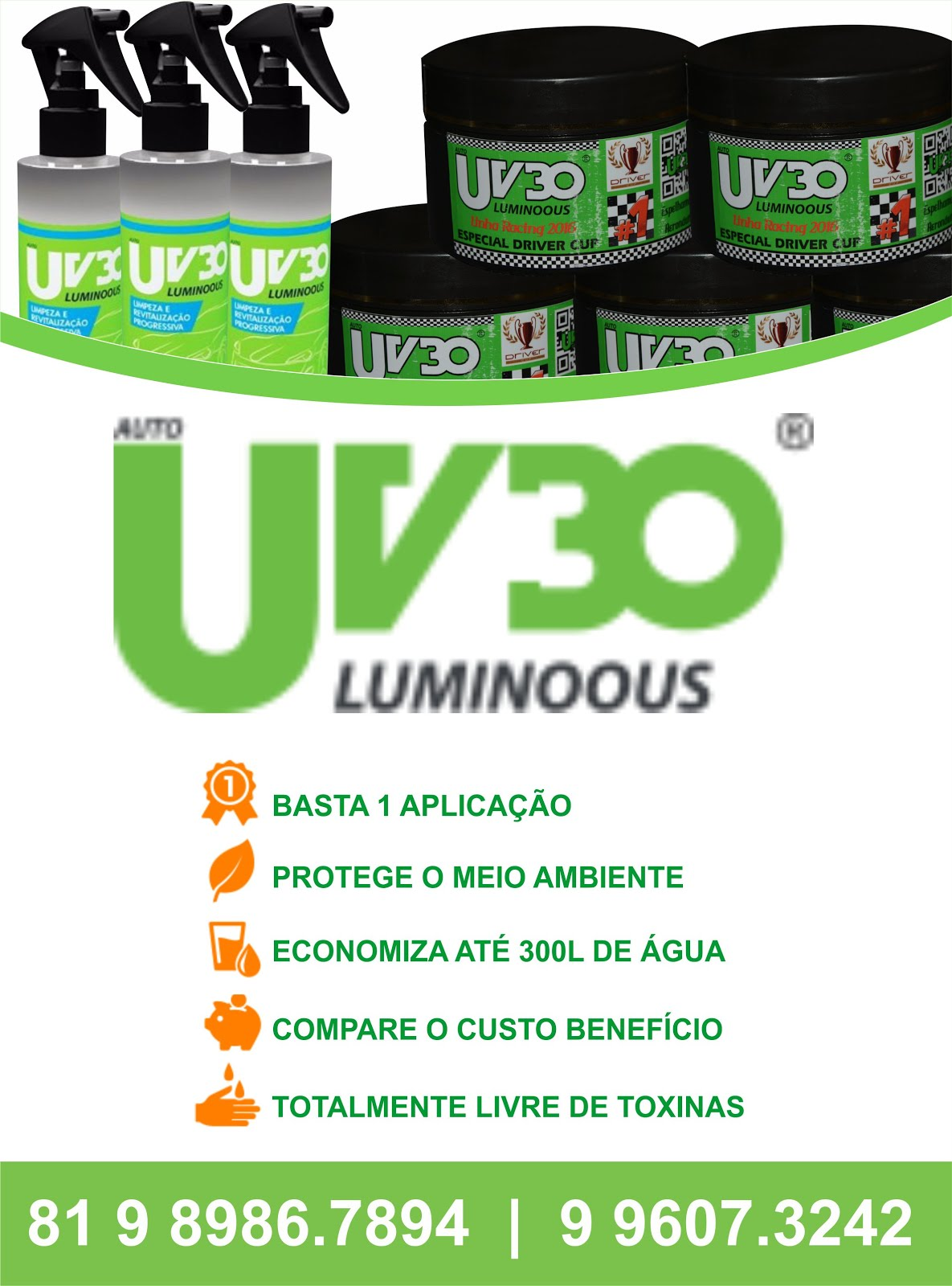 Publicidade - Auto UV30 Luminoous