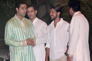 Celbs grace the Big B's Diwali bash