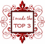 I made top 3 at Craft Emma's 28/1/12
