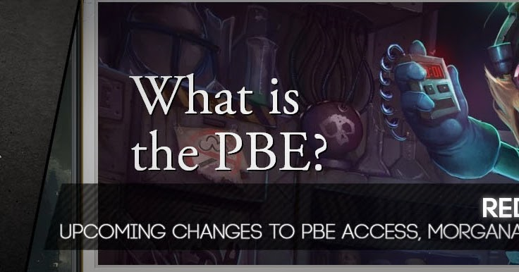 how to get the pbe for lol
