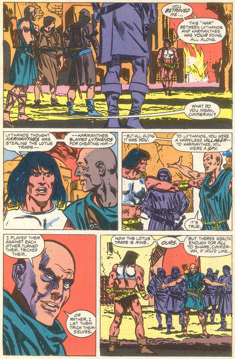 Conan the Barbarian (1970) Issue #231 #243 - English 20