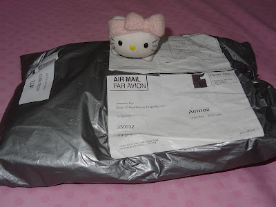 My clothes arrived!