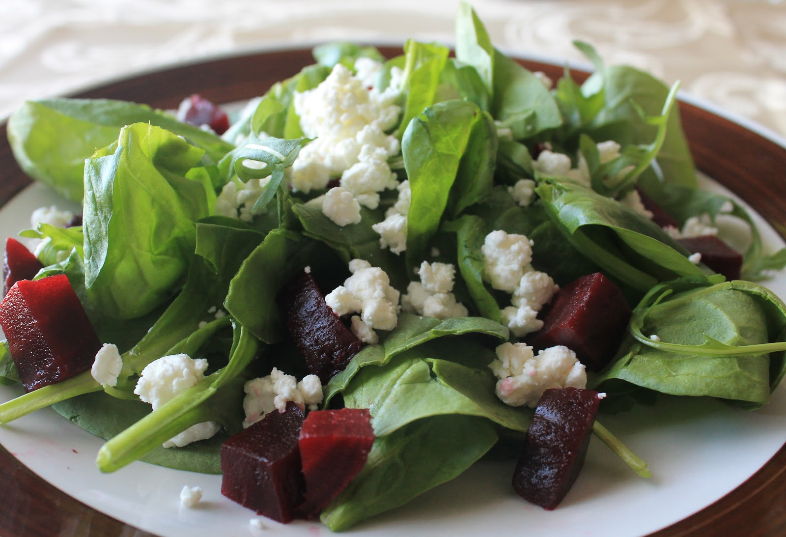 The Cultural Dish: Arugula Salad with Beets and Goat Cheese