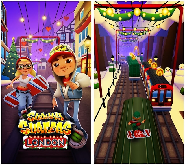 Subway Surfers London Mod Unlimited Everything Full Game Free Pc