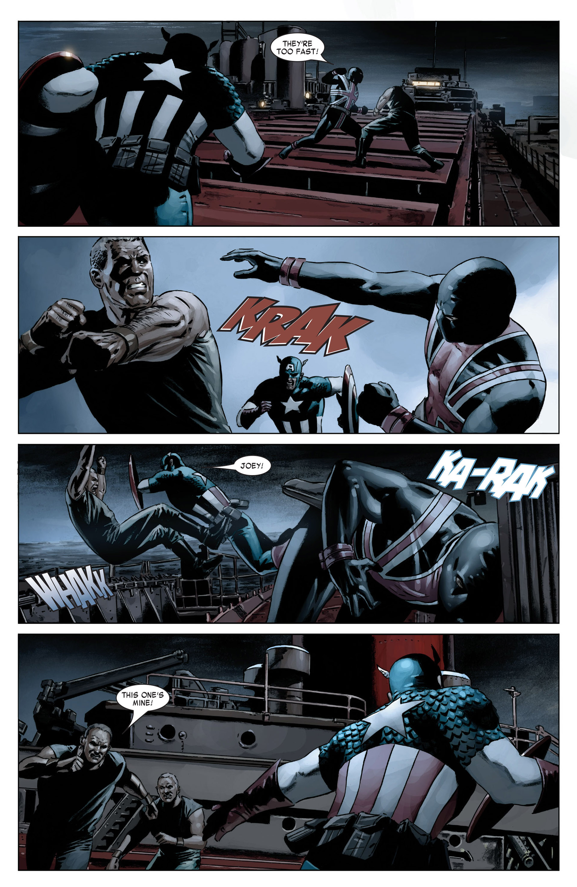 Captain America (2005) Issue #18 #18 - English 21