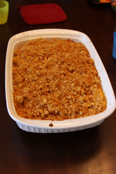 In the Kitchen: Baked Smokin' Mac & Cheese