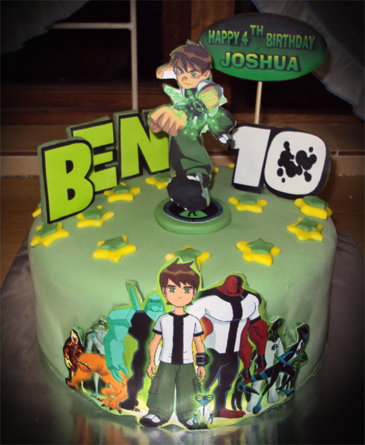 Ben 10 Cake on Bob The Builder Ideas On Pinterest