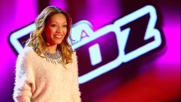 Eysha canta Homeless-La Voz 3
