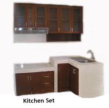 Jati furniture murah kitchen set lemari dapur for Harga pembuatan kitchen set per meter