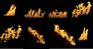Fire Png New Collection for Graphics Designing