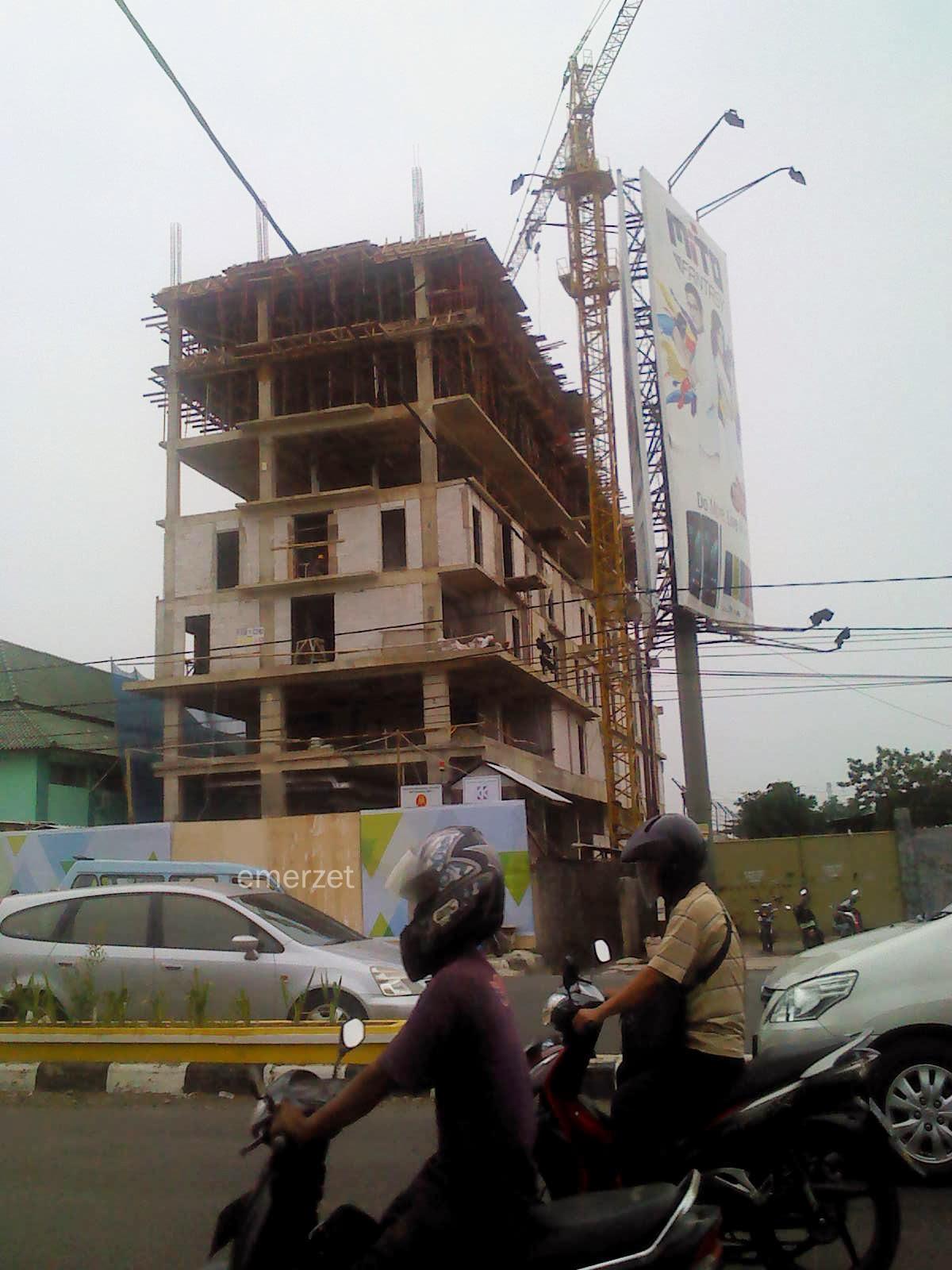 Pembangunan Citradream Hotel-Kota Cirebon , 15 Februari 2014
