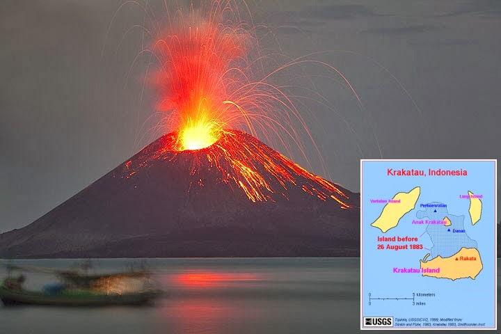 Letusan Gunung Krakatau