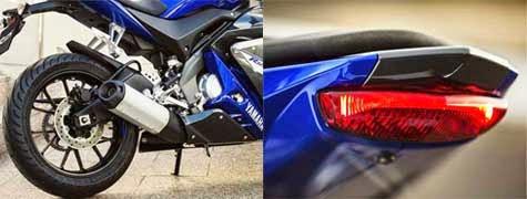 Knalpot Yamaha R125