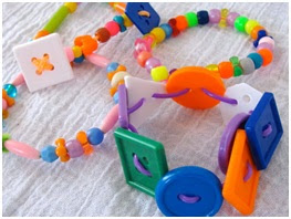 Kids stretch bracelets for birthday souvenirs
