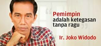 Jokowi, Joko Widodo, Pilpres 2014, Hendropriyono, Jokowi jujur
