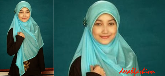 Jilbab Polos Kesan Mewah LuxLook Plain Hijab