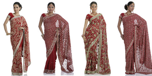 Wedding Dresses Sari Traditional  Indian Dress Saree