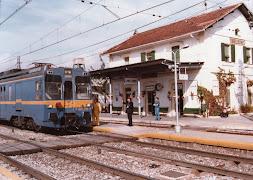 Estación de Torrelodones año 1983