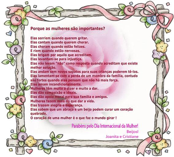 Dia da Mulher - Imagens, Mensagens e Frases para Facebook