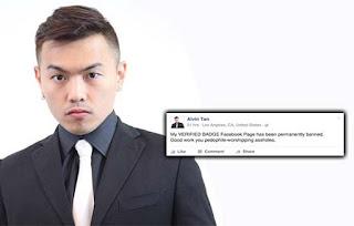 Akaun Facebook Alvin Tan Dipadam