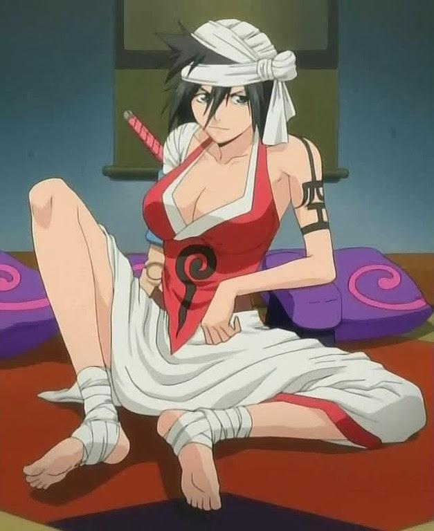 Discriminating ichigo x kukaku tits, 0:06