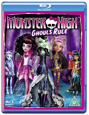 Monster High: Ghoul's Rule! (2012) 720p BRRip 565MB mkv Latino AC3